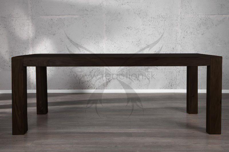 Jedálenský stôl Seesham Negro 200 - Obrázok č. 2