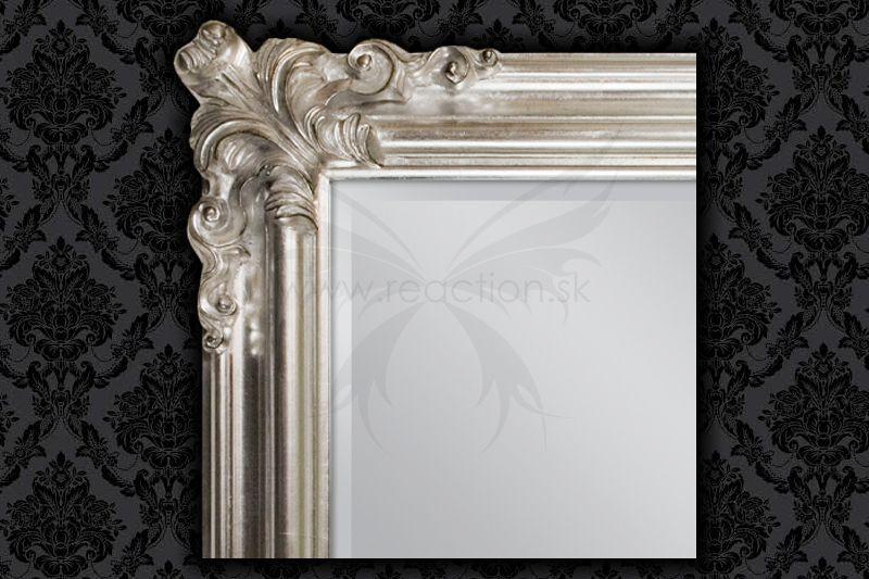 Zrkadlo Renaissance Silver - Obrázok č. 3