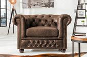 Kreslo Chesterfield Vintage Leather,