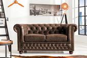 Sedačka Chesterfield 2 Vintage Leather,