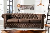Sedačka Chesterfield 3 Vintage Leather,