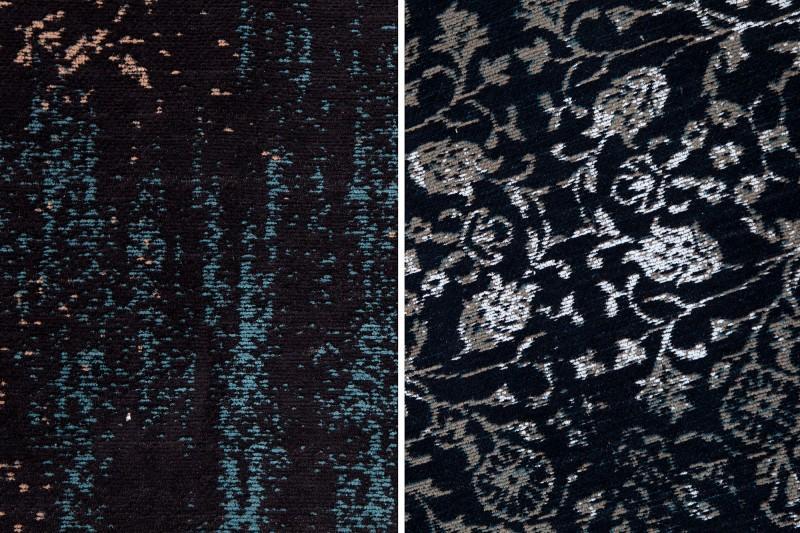 Koberec Anatol black blue - Obrázok č. 2