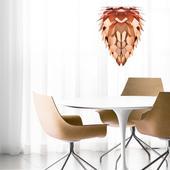 Závesná lampa Conia Copper Maxi,