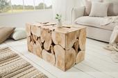 Stolík Stump Wood Double,