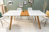 Jedálenský stôl Scener oak 160-200,