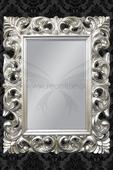 Zrkadlo Bonder II Silver,