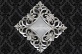 Zrkadlo Baroque XL Silver,