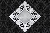 Zrkadlo Baroque XL White,