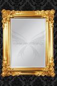 Zrkadlo Renaissance Gold,