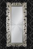 Zrkadlo Baroque Lounge Silver,