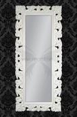 Zrkadlo Baroque Lounge White,