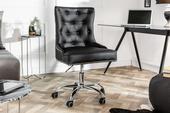 Pracovná stolička Victory Black,