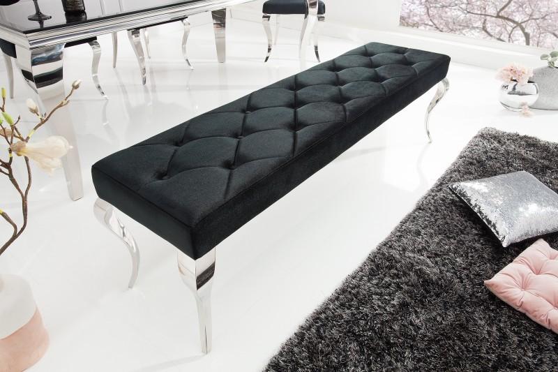 Lavica Barock Model Black - Obrázok č. 1