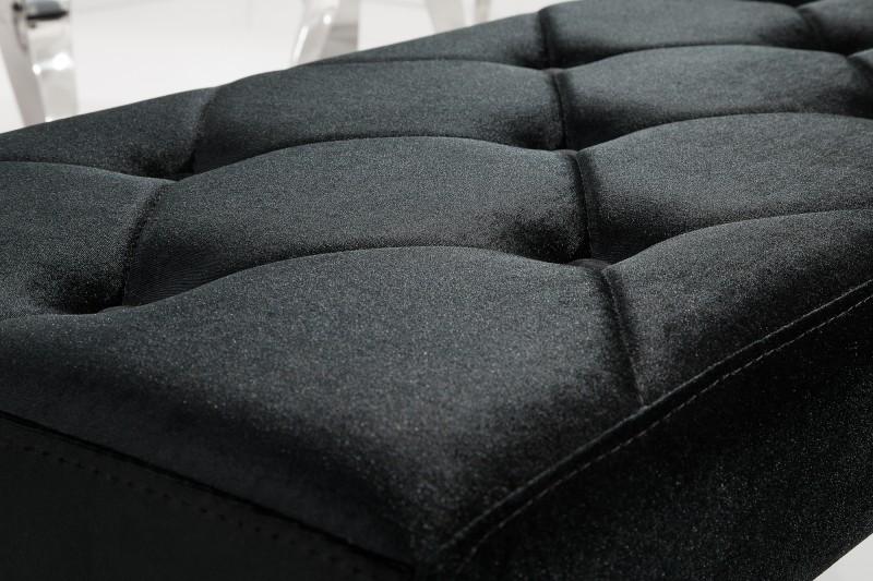 Lavica Barock Model Black - Obrázok č. 3