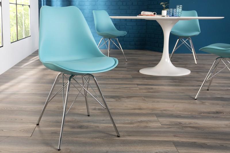 Stolička Scener Chair Retro Tyrkys - Obrázok č. 1