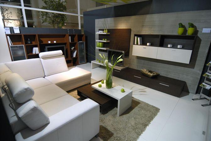 Interier I - Obývacie izby a sedacie súpravy - Aj také niečo by mohlo byť ... :) zelena so sivou ma štýl :-)