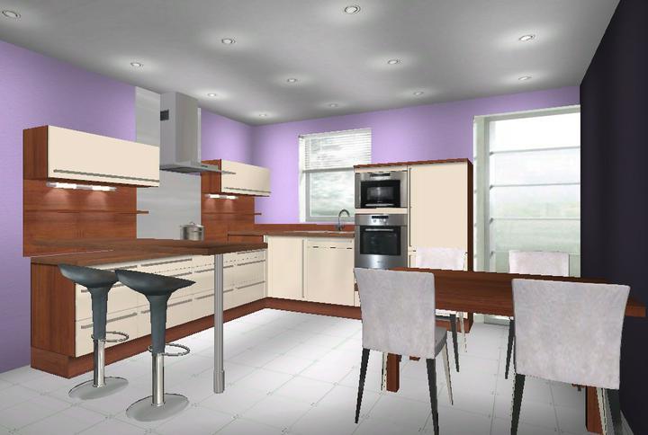 Kuchynka - Návrhy a inšpirácie - obľúbila som si fialovú