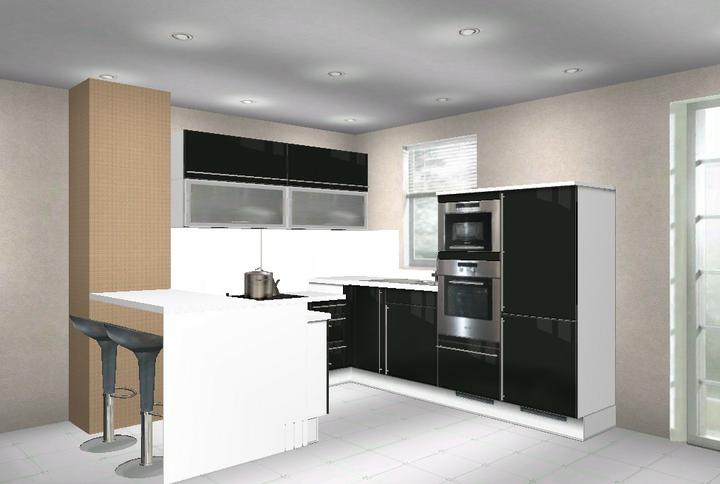 Kuchynka - Návrhy a inšpirácie - Krásna je aj v čiernom