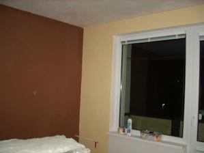 farba steny v obývačke