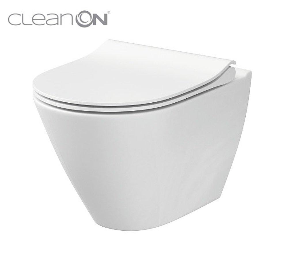 Ten NÁŠ 🏡 - Cersanit CITY WC misa závesná RimFree CleanOn