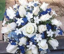 ale každá nevěsta by měla mít něco modrého...