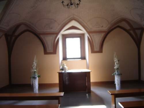 Naša svadba - Miesto činu - kaplnka