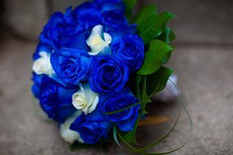 Drahý rozhodol že to budú modré ruže tak asi si vyberiem túto... :-)