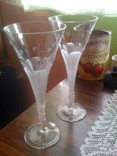 naše nádherné, ručne robené a zdobené poháre