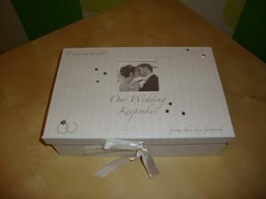 Krabička pro úschovu blahopřání