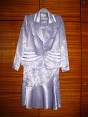 Svetlofialový kostým 3-dielny, veľkosť 46, 46