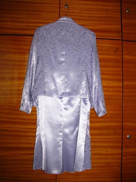 Svetlofialový kostým 3-dielny, veľkosť 46 - Obrázok č. 2
