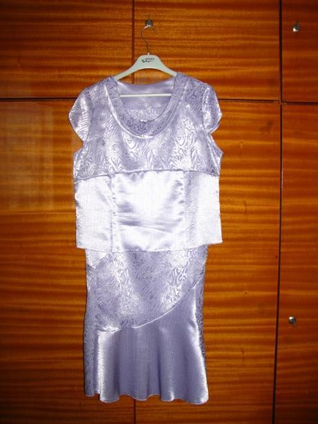 Svetlofialový kostým 3-dielny, veľkosť 46 - Obrázok č. 3