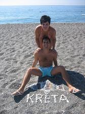...na Krete...