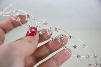 Valentínsky darček - náramok k svadobným šatám