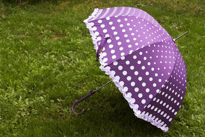 Nasa mala fialova - co uz mame - dáždnik - ale dúfam, že ho nebude treba :-)