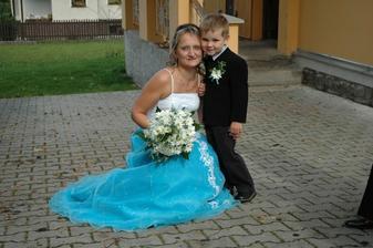 s naším synem Marečkem