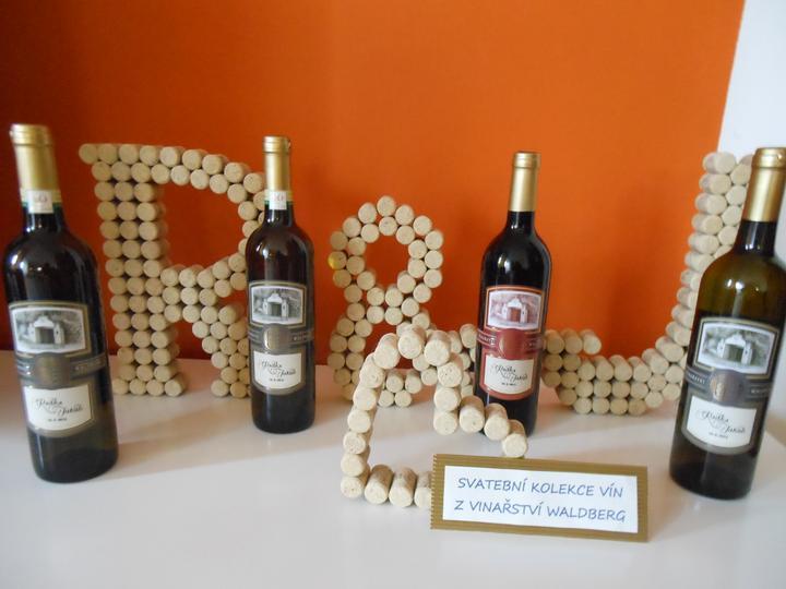 Radka a Kuba - červen 2012 - konečně máme doma naše vína..