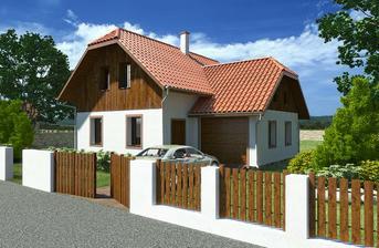 NICE WOOD 123 -domeček je vhodný pro 4-6 člennou rodinu.Vzhledem k architektonickému pohledu se dům hodí do moderní tak i do starší zástavby.