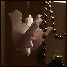 holúbkovia na stromček, inšpirácia v jednom nemenovanom obchodnom dome