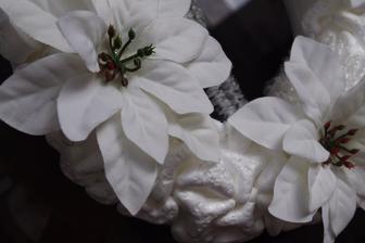 tu je detail, kvety su z totalne gycovej kvetiny z Kik za par drobnych (samozrejme rozobratej).