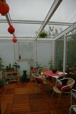 vnútro záhrady (takmer dokončené), už ho len zariadiť