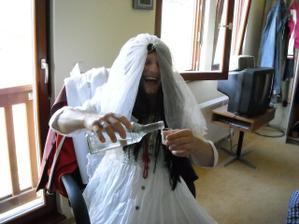 falešná nevěsta :-))