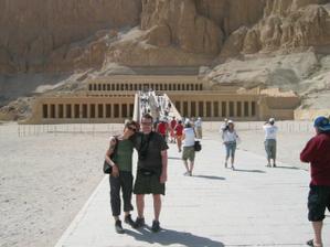 naše svatební cesta - egypt :-))