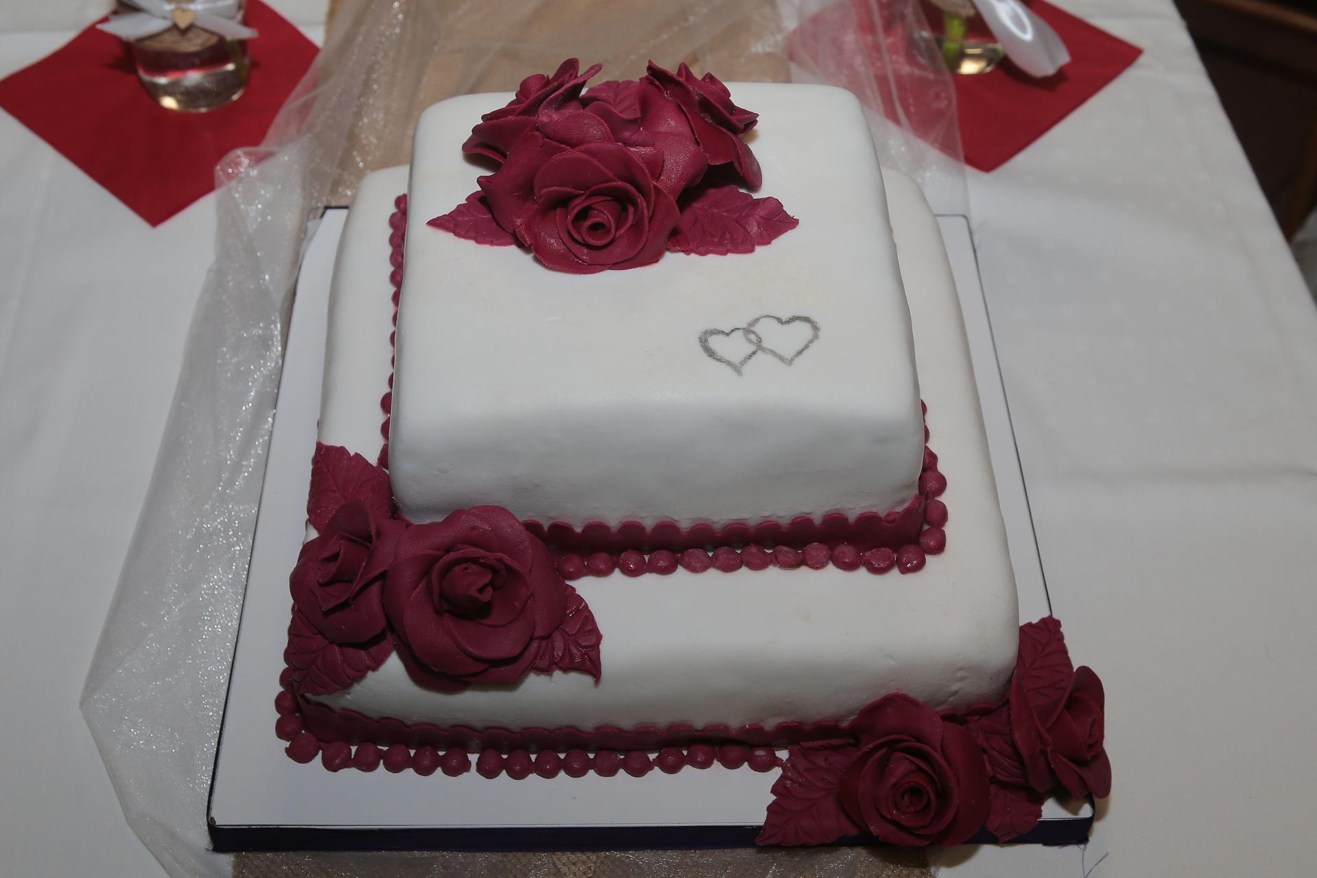 Kristýna   {{_AND_}}   Miroslav - náš svatební dort
