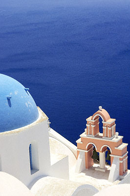 Wedding by the sea - Santorini