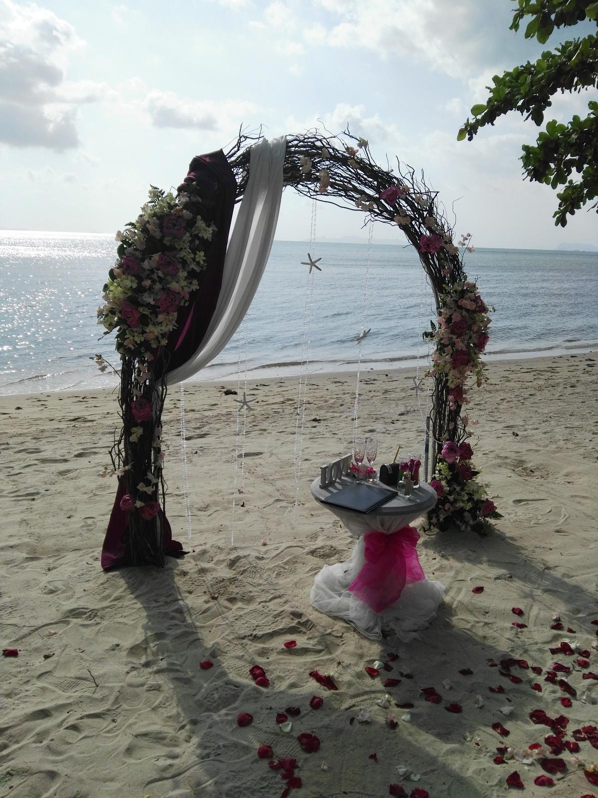 Svadba v raji Thajsko - Obrázok č. 14