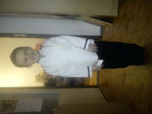 mrňous jako ženich v uniformě:)