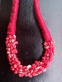 Náhrdelník Červený koral,