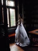 Svatební šaty vel. cca 46-48, 46