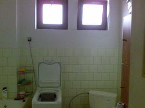 kúpelna pred rekonštrukciou